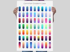 Some Common Gradient Color by The Great Roshan                                                                                                                                                                                 More