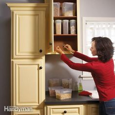 Kitchen cabinets work hard, and all that opening and closing creates a variety of problems. Most are inexpensive and easy to fix, so take a day and plow through them—it'll be like having a new kitchen.
