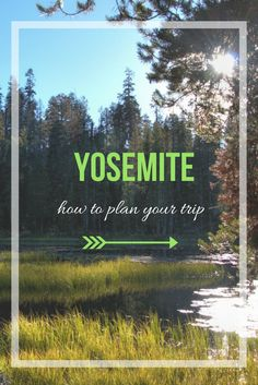 Do you want to visit Yosemite? check how to plan your trip to Yosemite National Park!