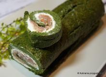 roladka brokułowa z łososiem: Przepisy, składniki, porady kulinarne - Smaker.pl