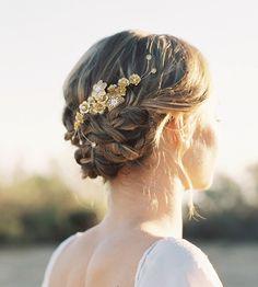 Paige Floral Hair Comb