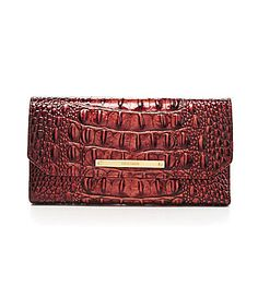 Brahmin Soft Checkbook Wallet #Dillards