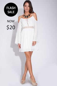 ❤️ Dress-tival Sale ❤️ Boho Chic in Our Flowy Lace Dress!  Shop yours ➡️ https://levixen.com/BOHEMIAN-IVORY.html  #LeVixen #WomensFashion #Dresses #Bohemian #Boho #OOTD #Fashion #Style #Monday #Coachella2015