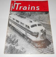 Trains Magazine Back Issue June 1950 Volume 10  Number 8          4077