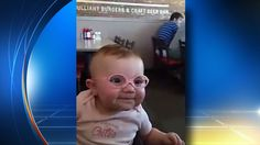 Baby's reaction to new glasses becomes online sensation of joy | News  - Home