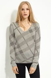 Burberry Brit V-Neck Cashmere Sweater
