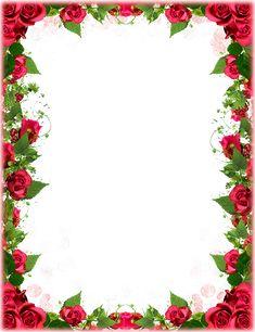 Red roses border Flower Picture Frames, Flower Pictures, Flower Frame, Happy Rose Day Wallpaper, Flower Phone Wallpaper, Frame Border Design, Page Borders Design, Molduras Vintage, Rose Background