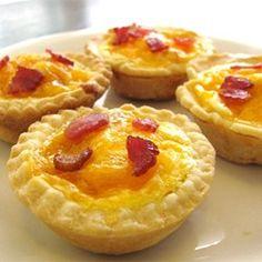 Bacon and Egg Breakfast Tarts - Allrecipes.com