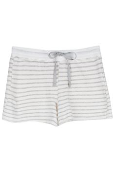 Crafted from super soft striped French Terry, our Lan shorts are a vacation worthy silhouette you will want to live in.