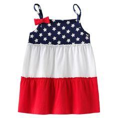 Jumping Beans® Star Colorblock Babydoll Tank - Toddler