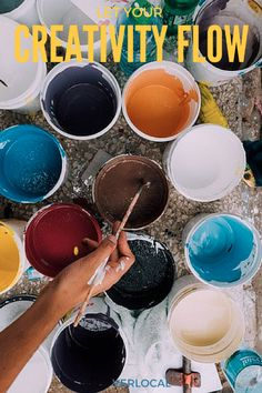 Let your #creativity flow with a beginner's art class!