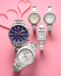 V-day gift: It's time for love! ESQ MOVADO #watch BUY NOW!