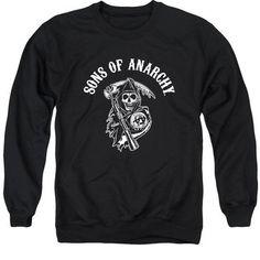 Sons Of Anarchy - Soa Reaper Adult Crewneck Sweatshirt