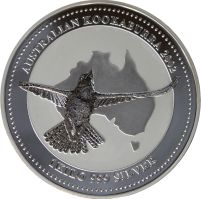 One kilo (over two pounds) silver #Kookaburra coin. http://www.gainesvillecoins.com/buy-silver.aspx
