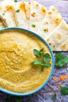 Masala-Spiced Lentil Hummus