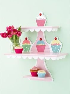 Cupcake shelves NEXT