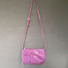 Purple Purse Purse with Phone and Credit Card pockets Bags Crossbody Bags