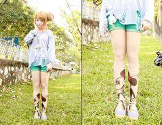 <3<3<3 (by Chibi Bunny P) http://lookbook.nu/look/4672639-3-3-3