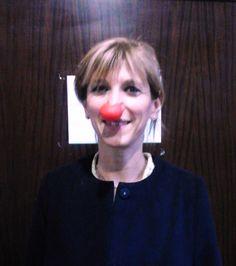 red nose with Costanza M. restar fanciulli...