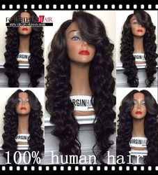 Online Shop 2015 Fashion New Style glueless full lace wig & front lace wig with baby hair for black women Large STOCK Free Shipping|Aliexpress Mobile