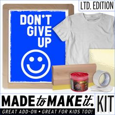 1000 Images About Diy Kits Screen Printing On Pinterest
