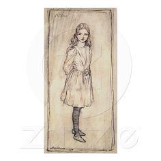 Arthur Rackham Alice In Wonderland Print at Zazzle.ca