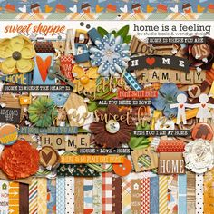 Home Is A Feeling Kit by Studio Basic and WendyP Designs