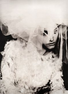 Photoshoot for Vera Wang by Paolo Roversi