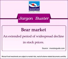 Demystifying the term #BearMarket in the financial context #JargonBuster