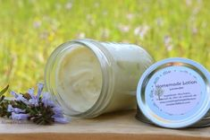 I've tried out a few recipes for lotion and have found some that I really love. Homemade lotions and balms have cured any skin problems I've had and are the best for those dry winter months. This recipe is available in My Shop as well. The Whipped Shea Bu Homemade Shampoo, Homemade Sunscreen, Shea Body Butter, Thing 1, Lotion Bars, Shampoo Bar, It Goes On, Soap Recipes, Homemade Beauty