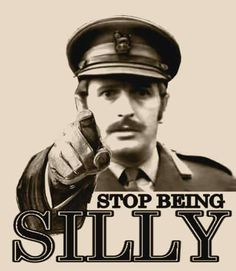 STOP being SILLY.