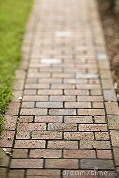 Red Brick Walkway Royalty Free Stock Photography - Image: 12543667