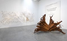 Ai Weiwei: Roots at Lisson Gallery, London - Arte Fuse Roots Series, Refugee Boat, Lisson Gallery, Tree Felling, Ai Weiwei, Giant Tree, Steel Sculpture, Tree Roots