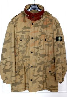 Stone Island Ice Camo Field Jacket 1990