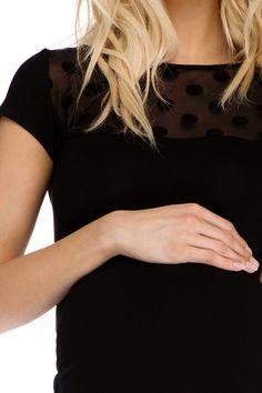 Sukienka ciążowa Coco czarna