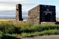 Minidoka entrance gate ruins
