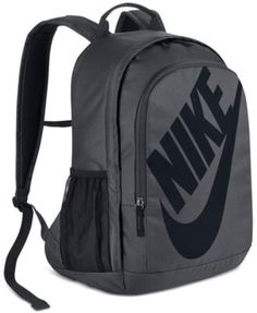 Men's Nike Sportswear Hayward Futura Backpack Digital Pink/University Red Size One Size. Polyester shell has a dense weave for lasting durability. Padded shoulder straps adjust for custom comfort. Large main compartment and side pockets for storage. Galaxy Backpack, Laptop Backpack, Nike Free Shoes, Nike Shoes Outlet, Rucksack Bag, Backpack Bags, Duffel Bags, Mini Backpack, Grey Backpacks