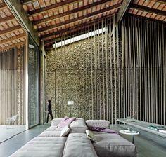 RCR arquitectes — Entremuros House. Olot, Catalonia