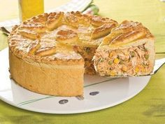 Brazilian chicken pie