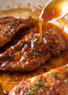 Poulet miel et ail prêt en seulement 10 minutes! - Recettes - Ma Fourchette