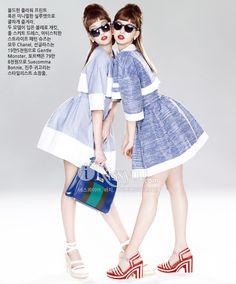 Harpers Bazaar Korea March 2013 Model: Lee Ho-jung, Kim Jin-kyung