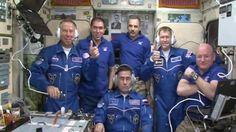 Dmegy's Blog: Tim Peake begins stay on international space stati...