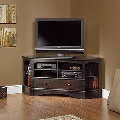 Sauder Harbor View Corner Tv Stand