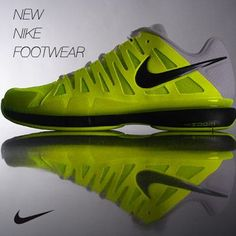The Nike Vapor 9 Tour men's tennis shoe.