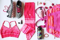 Fashion and style: Fit kit, adidas,flatlay