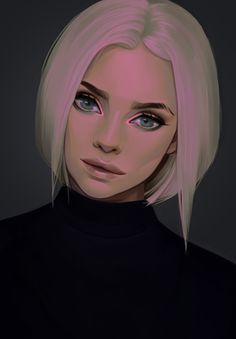 ArtStation - Colouring study 01, Tricia Loren