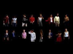 Thriller - Michael Jackson with Friends chor - Candice Breitz King A Potrait of Michael Jackson 2005