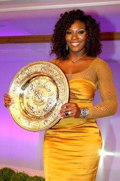 Wimbledon 2012 Champions Dinner -Serena Willams