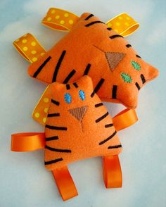 Tiger Tabby Cat Embroidery Design for by DigitizedCreations, (Etsy). Pattern to purchase, machine embroidery.