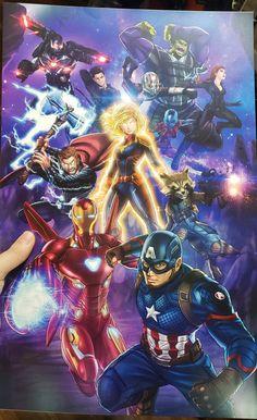 Marvel Femme Avengers Endgame Stronger Together Tank Top